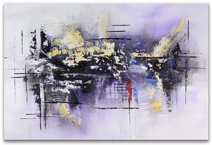 Abstrakt konst olja